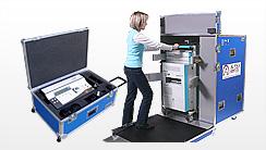 Flightcases für medizinische Geräte, Medizintechnik, Transportkoffer für Ultraschall, Endoskopie, Implantate-Koffer