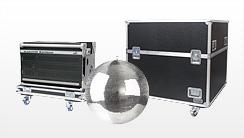 Flightcases für Showtechnik, Nebelmaschinen, Laser & Effektgeräte
