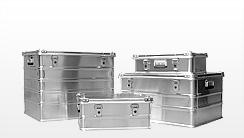 Transport-Boxen aus Aluminium