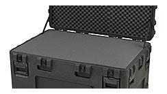 SKB Koffer, SKB Cases - 3R Serie Koffer wasserdicht mit Rasterschaumstoff, Würfelschaumstoff