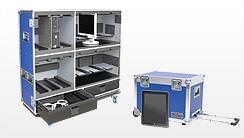 Flightcases für Computer & IT-Geräte, iPad, Notebook-Koffer und Laptop-Koffer