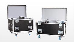 Vario-Flex Transport Flightcases, LKW Packmaß Cases