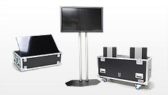 Flightcases für Plasma- & LCD-Bildschirm, Plasmacases, Displaycases, Flatscreen Cases