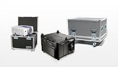 Flightcases für Beamer, Projektoren, LCD-Projektoren, DLP-Projektoren, Beamer Koffer