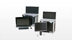 TFT-Koffer, Bildschirm-Koffer, TFT Flightcases, LCD Cases