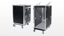 19 Zoll Rack Single Door Topdeckel - Flightcases