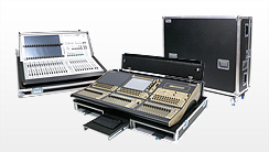 Mixercases, Mischpultcases - Flightcases für Tonpulte digital und analog