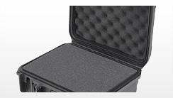 SKB Koffer, SKB Cases - 3i Serie Koffer wasserdicht mit Rasterschaumstoff, Würfelschaumstoff