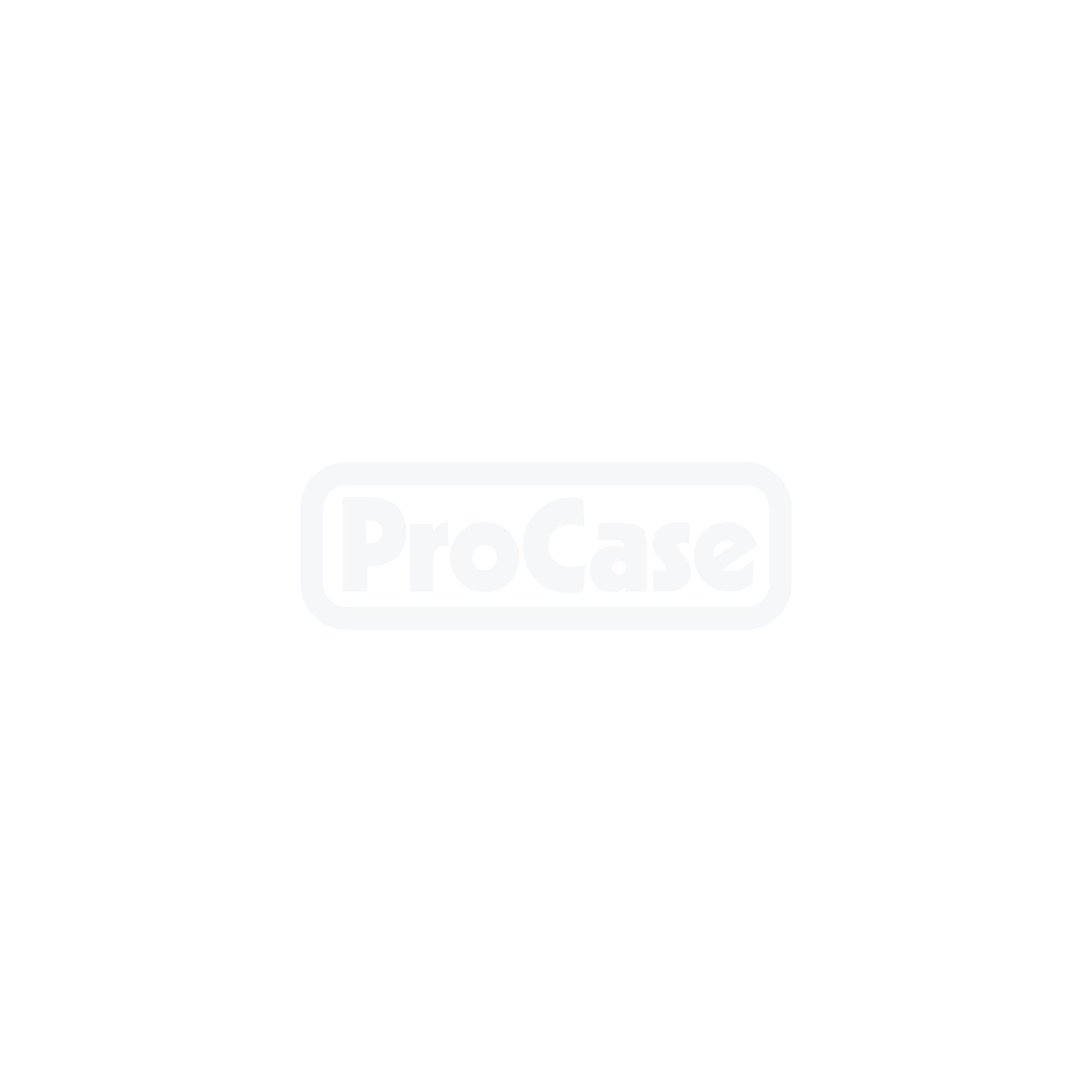 Flightcase für 4 BenQ GW2260HM Displays ohne Standfuß