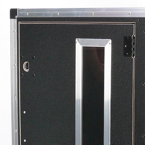 4 Sichtfenster für QSD-Rack (11-20HE) 109S20x4