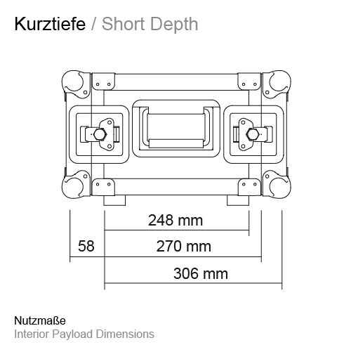 Kurztiefe RS-RS 248 mm 11500