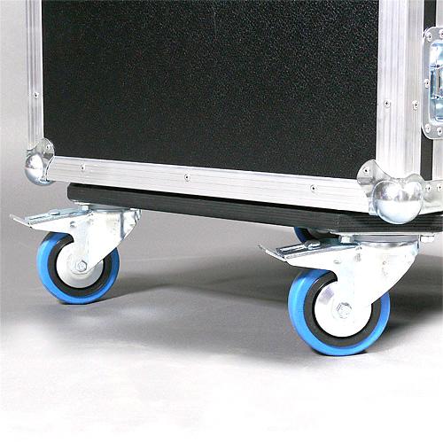 Rollenbrett mit blue-wheels 2x gebremst 11901