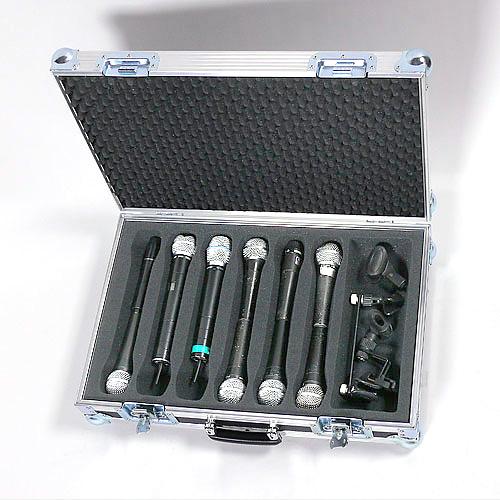 Schaumstoff Einlage 12 Mikrofone oder 6 Handsender 13018-mic1