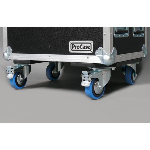 Rollenbrett mit blue-wheels 2x gebremst 13520RB2