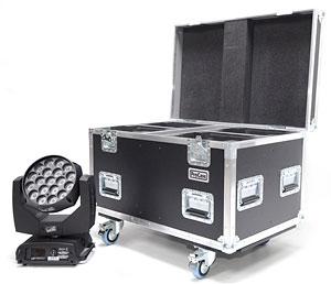 Flightcase für LED Scheinwerfer