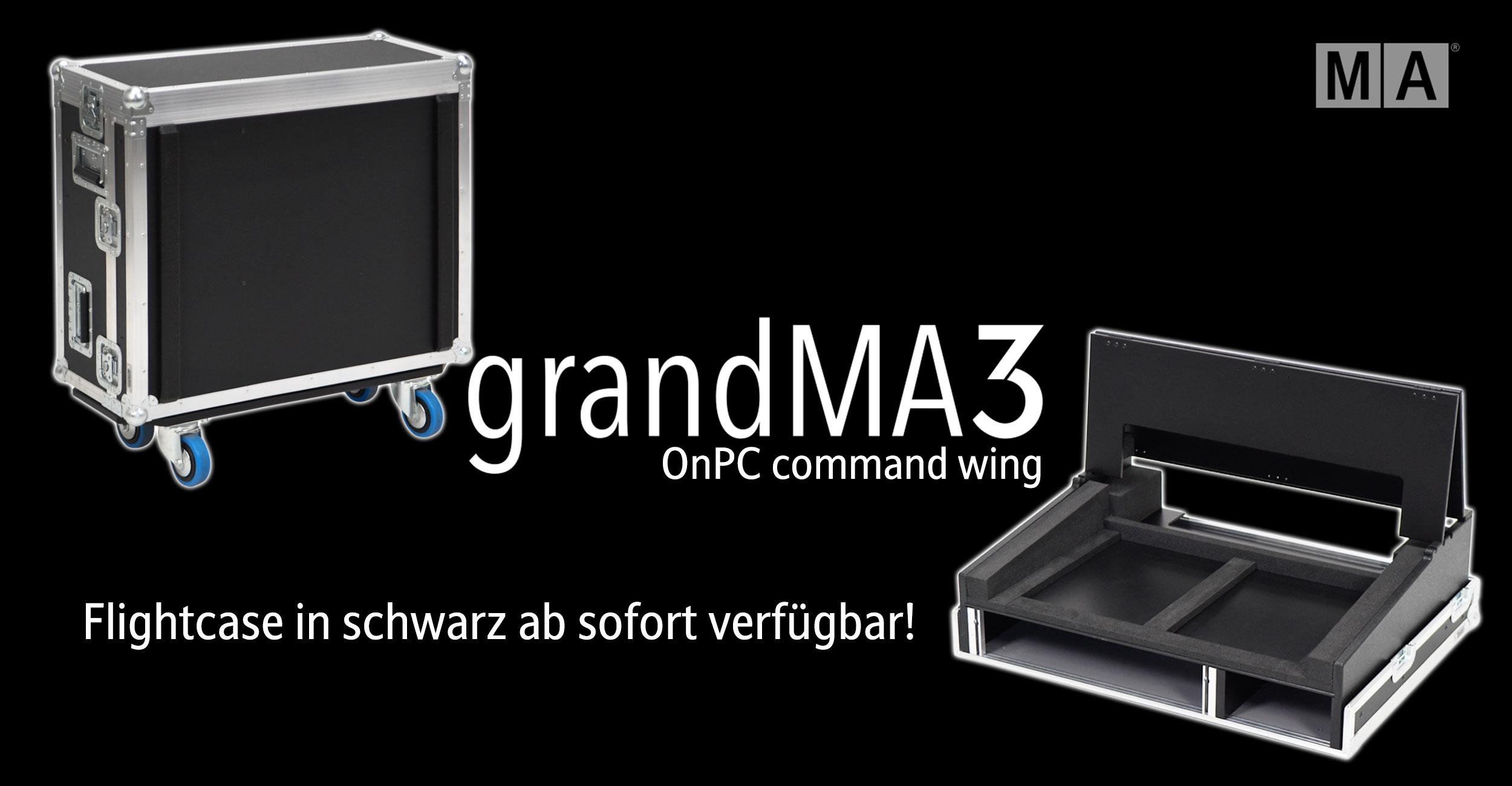 ProCase MA Lightning grandMa3 Command Wing onPC